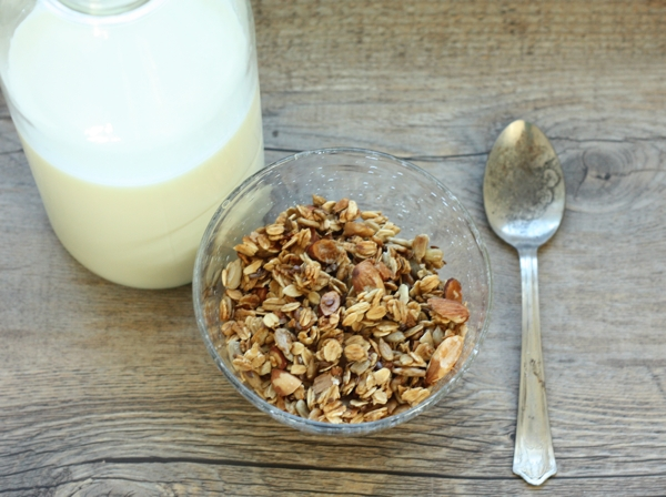 Almond Flax Granola recipe