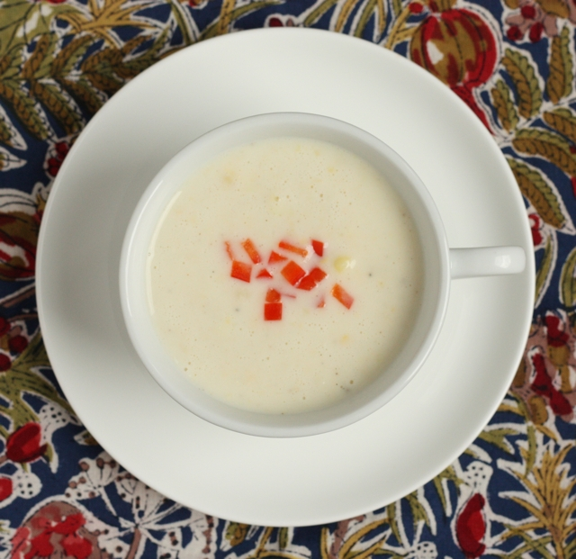 creamy corn soup recipe #writes4food